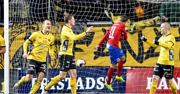 Viktor Claesson stod för ett snyggt mål i dagens match mot HIF